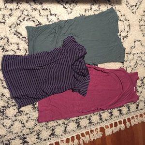 Medium maternity dress and top bundle